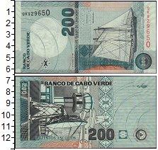 Изображение Банкноты Кабо-Верде 200 эскудо 2005  UNC