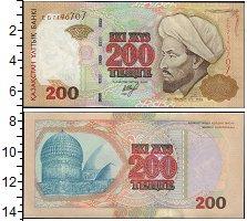 Изображение Банкноты Казахстан 200 тенге 1999  UNC