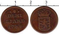 Изображение Монеты Люксембург 1/2 лиарда 1789 Медь XF