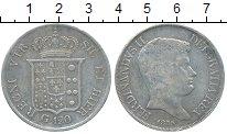 Изображение Монеты Италия Неаполь 120 гран 1835 Серебро VF