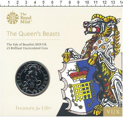 Изображение Подарочные монеты Великобритания 5 фунтов 2019 Медно-никель UNC 6-я монета из серии