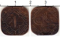 Изображение Монеты Индия Хайдарабад 1 анна 1946 Бронза VF