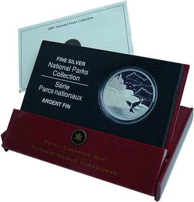 Изображение Подарочные монеты Канада 20 долларов 2006 Серебро Proof Национальный парк. О