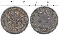 Изображение Монеты Кипр 50 милс 1955 Медно-никель XF
