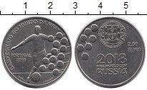 Изображение Монеты Португалия 2 1/2 евро 2018 Медно-никель UNC