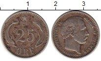 Изображение Монеты Дания 25 эре 1900 Серебро XF