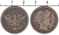 Изображение Монеты США 1/4 доллара 1914 Серебро XF-