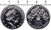 Изображение Монеты Великобритания 20 фунтов 2015 Серебро UNC