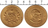 Изображение Монеты Тонга 1 паанга 1968 Медно-никель UNC