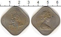Изображение Монеты Великобритания Гернси 10 шиллингов 1966 Медно-никель XF