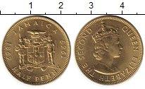 Изображение Монеты Ямайка 1/2 пенни 1969 Латунь UNC-