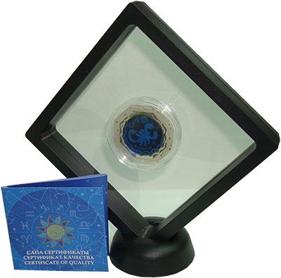 Изображение Подарочные монеты Казахстан 100 тенге 2018 Серебро Proof