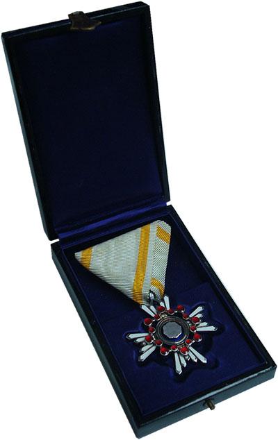 Изображение Значки, ордена, медали Япония Орден 0 Серебро UNC Орден Священного сок