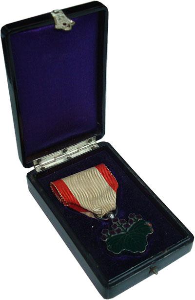 Изображение Значки, ордена, медали Япония Орден 0 Серебро XF+ Орден Священного сок
