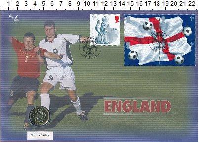 Изображение Монеты Великобритания 1 фунт 2002  UNC Елизавета II.