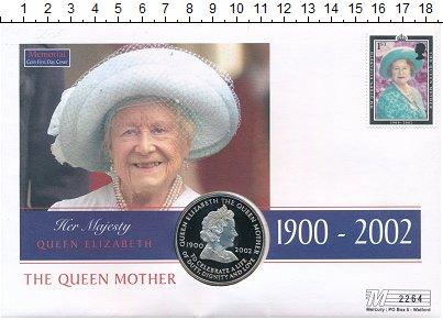 Изображение Монеты Остров Вознесения 50 пенсов 2002 Медно-никель UNC Елизавета II. В памя