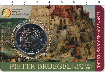 Изображение Монеты Бельгия 2 евро 2019 Биметалл UNC 450 лет со дня рожде