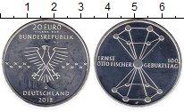 Изображение Монеты Германия 20 евро 2018 Серебро Proof-