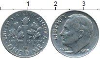 Изображение Монеты США 1 дайм 1965 Медно-никель XF