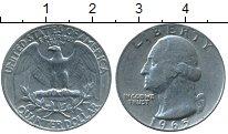 Изображение Монеты США 1/4 доллара 1965 Медно-никель VF
