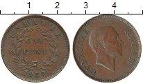 Изображение Монеты Малайзия Саравак 1 цент 1957 Бронза XF