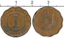 Изображение Монеты Гондурас 1 цент 1970 Бронза XF