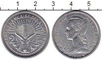 Изображение Монеты Сомали 2 франка 1959 Алюминий UNC-