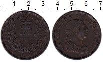 Изображение Монеты Великобритания Эссекуибо и Демерара 1 стивер 1813 Медь XF-