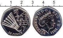 Монета Великобритания 50 пенсов Серебро 2011 Proof фото