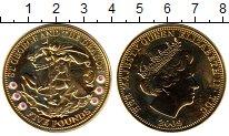 Изображение Монеты Великобритания Тристан-да-Кунья 5 фунтов 2009 Медно-никель UNC