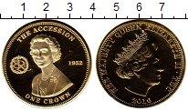 Изображение Монеты Великобритания Тристан-да-Кунья 1 крона 2010 Медно-никель UNC