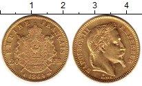 Изображение Монеты Франция 20 франков 1864 Золото XF