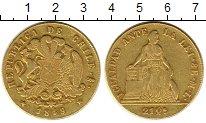 Изображение Монеты Чили 20 динар 1849 Золото XF-