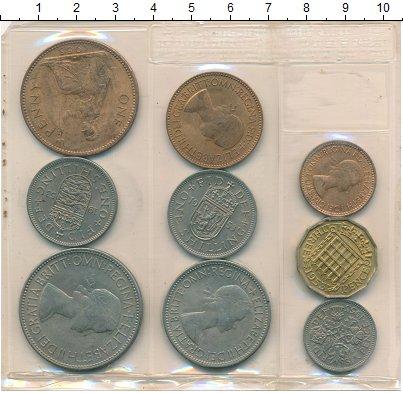 Изображение Наборы монет Великобритания Выпуск 1953, Коронация 1953  UNC-