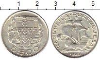 Изображение Монеты Португалия 5 эскудо 1948 Серебро UNC-