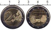 Изображение Монеты Финляндия 2 евро 2018 Биметалл UNC-