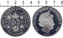 Изображение Монеты Тристан-да-Кунья 5 фунтов 2013 Серебро Proof