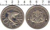 Изображение Монеты Силенд 1/2 доллара 1994 Медно-никель Proof-