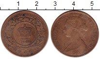 Изображение Монеты Канада Новая Скотия 1 цент 1861 Медь XF-