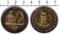 Изображение Монеты Словения 2 евро 2003 Биметалл UNC