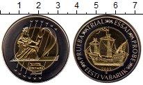 Изображение Монеты Эстония 2 евро 2003 Биметалл UNC