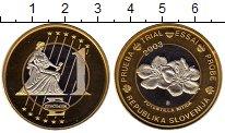 Изображение Монеты Словения 1 евро 2003 Биметалл UNC