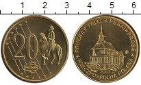 Изображение Монеты Польша 20 евроцентов 2003 Латунь UNC