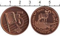 Изображение Монеты Кипр 5 евроцентов 2003 Бронза UNC