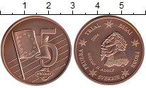Изображение Монеты Швеция 5 евроцентов 2004 Бронза UNC
