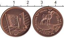 Изображение Монеты Кипр 1 евроцент 2003 Бронза UNC