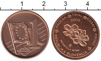 Изображение Монеты Словения 1 евроцент 2003 Бронза UNC