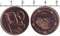 Изображение Монеты Великобритания Остров Джерси 2 евроцента 2003 Бронза UNC