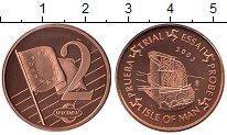 Изображение Монеты Великобритания Остров Мэн 2 евроцента 2003 Бронза UNC