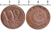Изображение Монеты Чехия 2 евроцента 2003 Бронза UNC